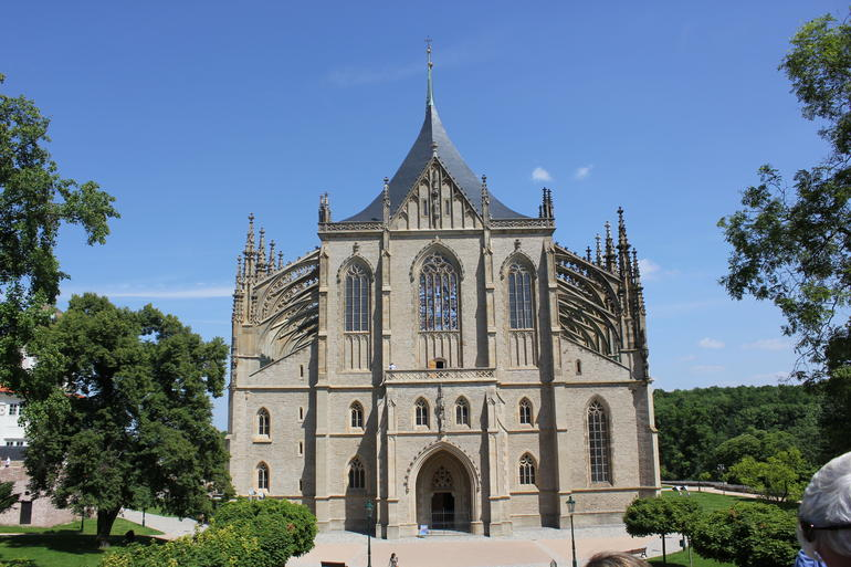St Barbara's Cathedral - Prague