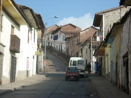 Driving through the streets of Cusco., Bandit - December 2010