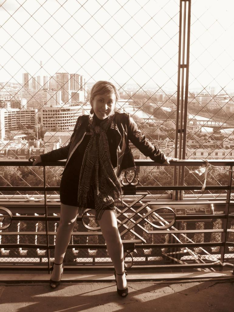 The Second Floor of the Eiffel Tower - Paris