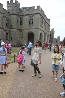 My daughter in Warwick Castle, Tiurmina T - July 2010