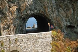 one of several tunnels on the was to Amalfi, ROBERT M - September 2009