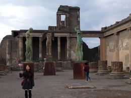 One of the ruins at Pompeii , Louis B - February 2017