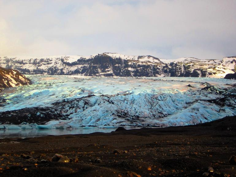 South Coast Highlights & Glacier Hiking Small Group Tour From Reykjavik