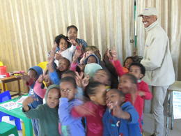 School kids in the Township school , dakesale - November 2017