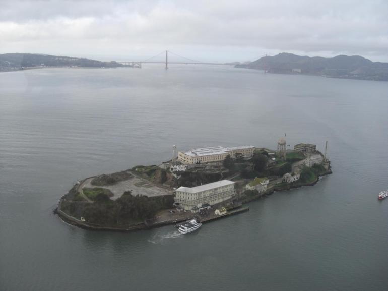 Alcatraz with Golden Gate - San Francisco