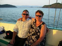 Enjoying the luxury boat - January 2010