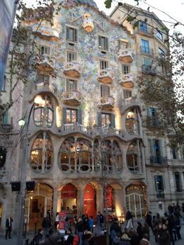 Casa Batllo, Gaudi, SCV - April 2012