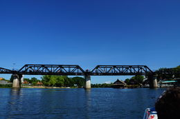 Long Tail Boat Ride to bridge , Lee M - June 2015