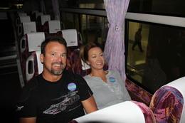 Comfy Bus ride to Mt. Fuji , Shelley J - November 2011