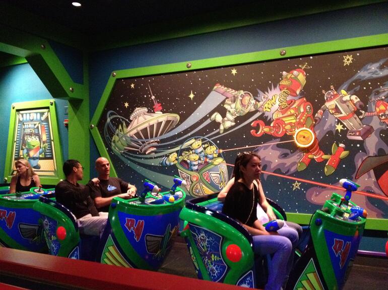 Buzz Lightyear Astro Blasters - Anaheim & Buena Park