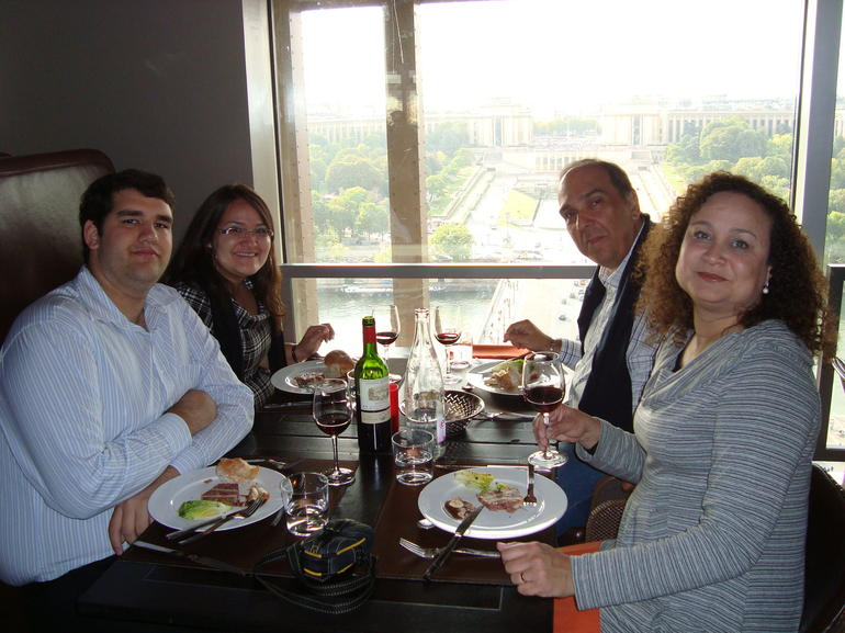 Dinner with nice view - Paris