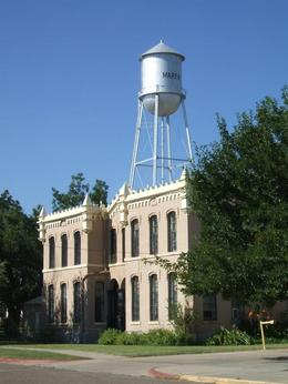 Interesting architecture for West Texas, Balti-most - September 2010
