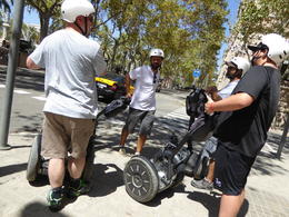 The Segway is highly intuitive. It is easy to learn, did not take me longer than 10 min. , Malte D - August 2016
