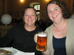 On our first day in Cesky Krumlov we ate lunch at Eggenberg Brewery. The beer was great! Definitely worth visiting! , Crystal W - October 2014