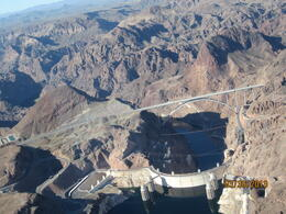Hoover Dam from the sky , Gregory W - April 2013