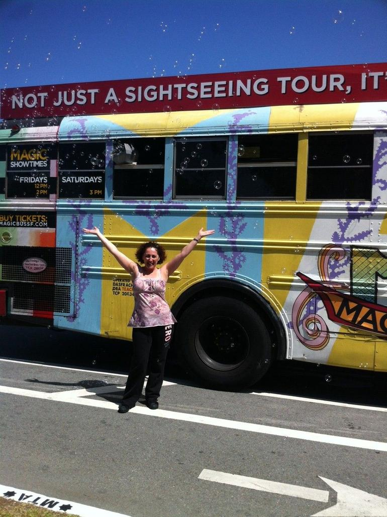 magic bus bubbles - San Francisco