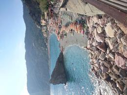 Monterosso beach is breath taking. , Sara E - October 2014