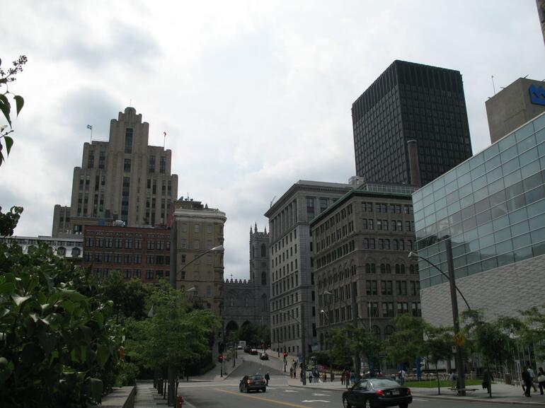 Montreal - View of Old Montreal - Montreal