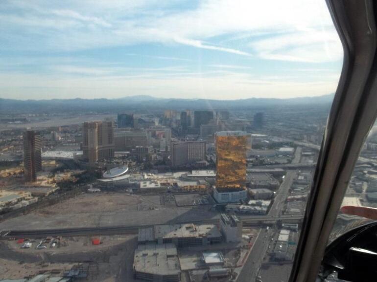 Over the Las Vegas Strip - Las Vegas