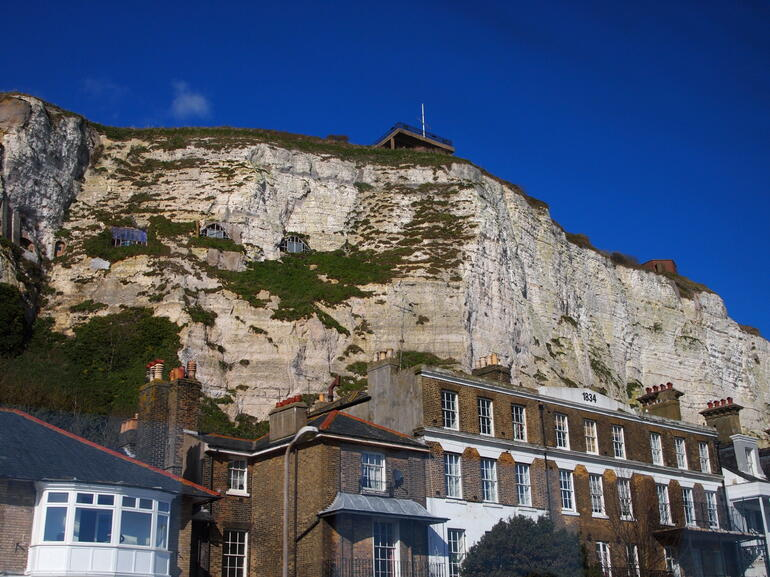 The white cliffs of Dover - London
