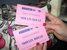 OMG loved loved loved the Moulin Rouge Show. Had several Glasses of Champaigne then after the show the Tour Bus dropped us off really close to our Hotel. WIll be contacting Viator agian next year , ARLENE D - August 2011