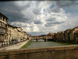 View of Ponte Vecchio , Cynthia N - August 2016