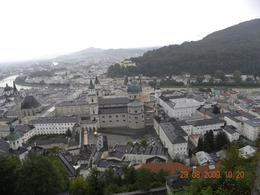 Looking down from the fortress - September 2009