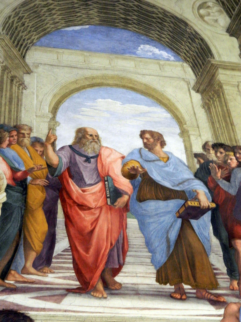 School of Athens by Raphael - Rome