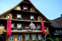 Trip from Zurich to Lucerne is very picturesque with the styles of Swiss homes., Thomas W - June 2010