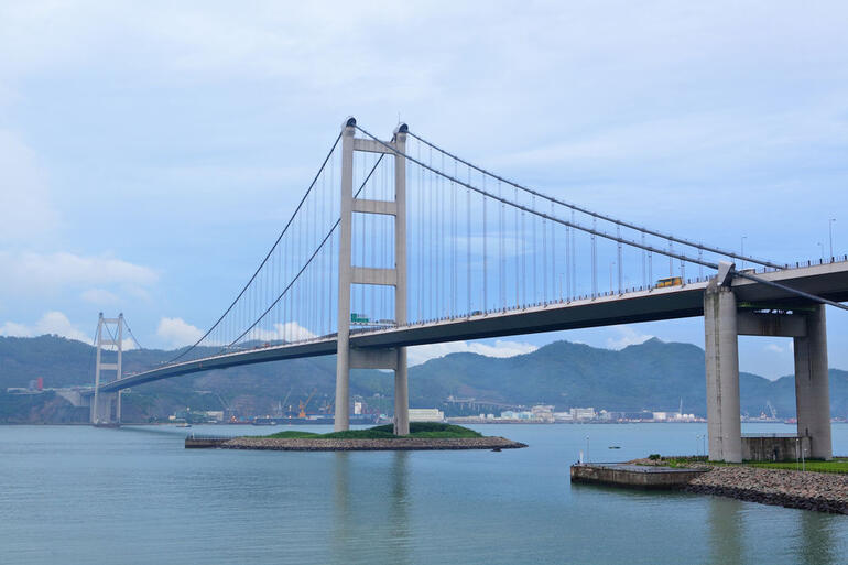 Tsing Ma Bridge - Hong Kong