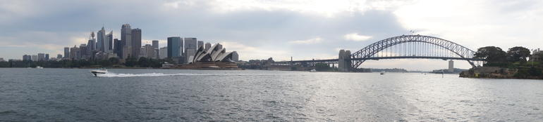 view of Sydney from the boat - Sydney