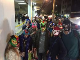 Urban Adventures group outside Arena Mexico , Michael M - March 2017