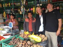 Chorrillos Market with local vendors , Howard S - July 2017
