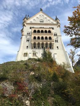 Neuschwanstein shot from below the castle , Knut F - October 2017
