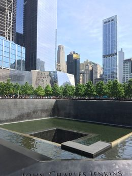 9/11 Memorial Pool, AM - June 2016