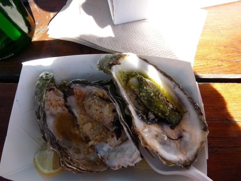 BBQ Oysters - Napa & Sonoma
