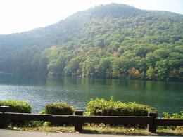 Picture taken at Bear Mountain of the lake. - October 2007
