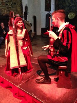 The Medieval Banquet at Bunratty Castle. , Beth C - September 2015