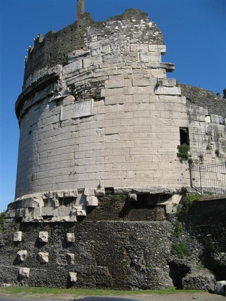 Cecelia's Tomb - Rome