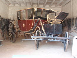One of George Washington's carriages. , sj - April 2012