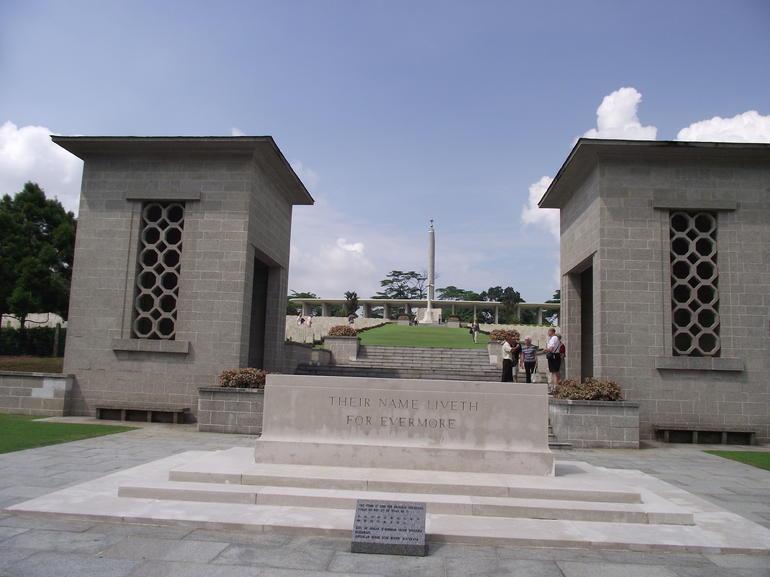 entrance to Kranji - Singapore