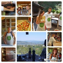 Larry and Fay on tour with walkabout florence cooking class. , Lawrence S - August 2016