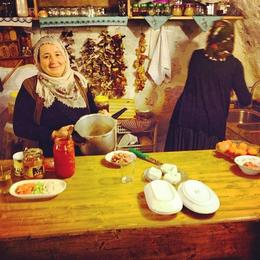 In the kitchen, Katie H - June 2014
