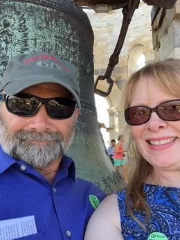 My husband and I in the tower! , lmariescott - October 2016