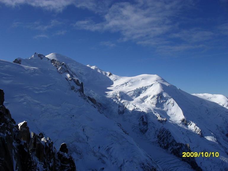 Mont Blanc - Geneva