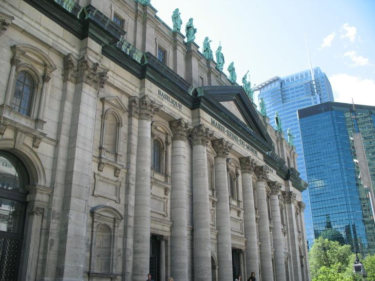 Montreal - Cathedrale Marie-Reine-du-Monde - Montreal