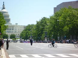 There were so many motorcycles coming for Memorial Day!, Irene - June 2013