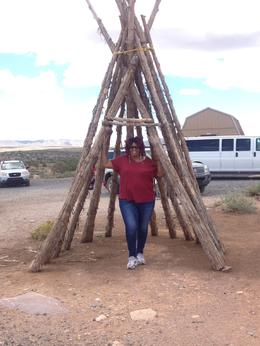 Learning about the native Indians of the Hualapai Tribe on the Grand Canyon West., Nichlas T - September 2014