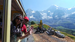Heading for Jungfrauch.....breathtaking natural beauty.....simply gorgeous. , Aspi S - September 2015