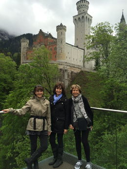 This was a beautiful day in the Alps with My sister Bobbie and my Mom Rita on the right...89 years old! , RITA W - May 2015